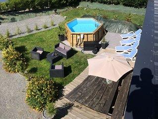villa nathaniel 4 étoiles 4 clés,villa  plein pied