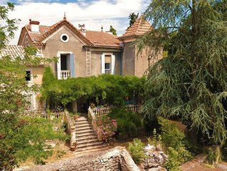'Cantemerle' maison de caractère à Goudargues au coeur de la Vallée de la Cèze