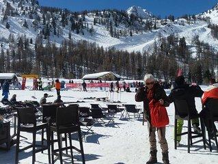 Appartement 45 m2 , 5 personnes, skis aux pieds