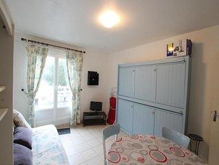 Gîte Donville-les-Bains, 1 pièce, 2 personnes