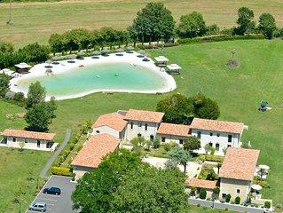 Laguna Lodge Résidence avec lagon naturel privé à Saint-Just-Luzac (17)