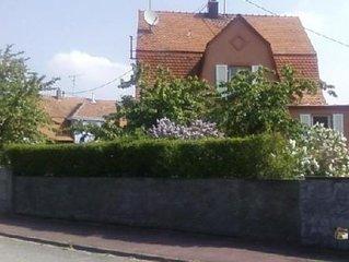 Maison Gite avec jardin 6 personnes entre Mulhouse et Colmar