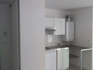 appartement 37m2 -garage securise -terrasse-20mn centre  de Nantes-bus