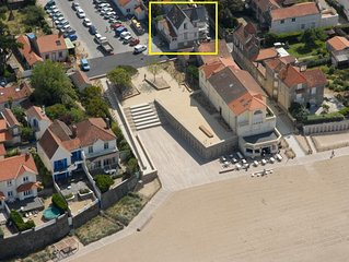 Charmante maison, vue mer à 50 mètres de la plage