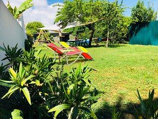 Maison de vacances La Rochelle Aytre - Jardin calme