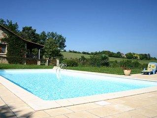 Maison de vacances avec piscine privée au coeur du Périgord Noir