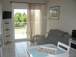 Appartement à 800 m des thermes 80 m Antilles de JONZAC