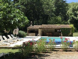 Charmante villa provençale avec piscine privée à Bédoin, Vaucluse
