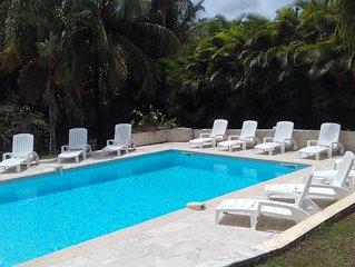 Villa de standing, Classée 4 étoiles, 4 Clés Vacances, Piscine et Jardin