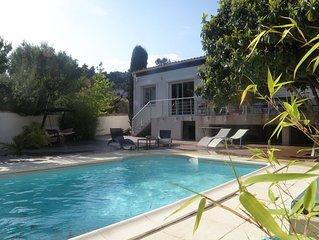 A 2 pas des calanques, belle Villa avec piscine pour 8-10 pers (180m²)