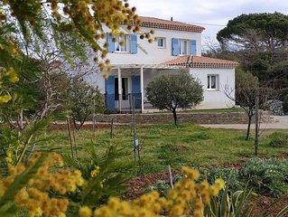 Charmante maison récente, au calme, proche de Hyères et des plages
