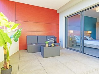 Superbe appartement 5 couchages 400m plage et commerces/ Residence standing avec