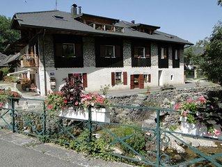 Maison typique savoyarde avec chalet et spa pour 4/5 personnes