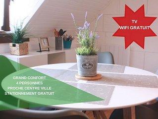 Welcome to Calais - Standing - appartement tout confort au calme et au centre