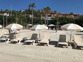 Theoule appartement 2 pièces 300 m plage et port avec piscine