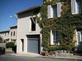 Etre chez soi au coeur de la Provence, dans Sablet maison de charme