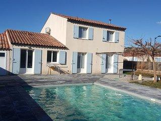 Maison piscine proche Aix Marseille