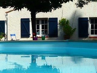Villa Provencale avec Piscine et grand jardin clos