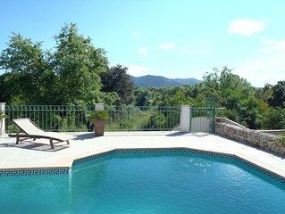 Jolie Villa 8 personnes, piscine securisee privative, ideale familles