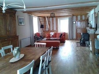 Appartement de charme dans une maison, entre Noirmont et lac, vue exceptionnelle