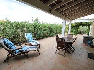 Spacieuse villa d'angle, vue sur la reserve, WIFI, gde terrasse, 4 pieces 5 couc