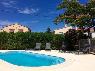 Maison entièrement rénové avec piscine, jardin, parking à Argelès