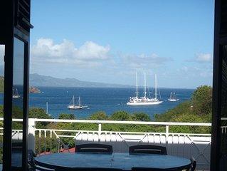 Bel appartement pour 5 personnes avec vaste terrasse très belle vue mer