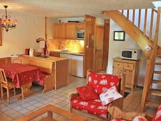Appartement 3 pieces / 6 personnes au 3eme et dernier etage