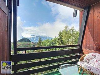 Frênes 303 Appartement de 4 ½ pièces, très agréable avec superbe vue sur les Alp