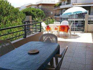 Calvi T4 récent 95m2 résidence avec piscine- Plage et commerces à 400m