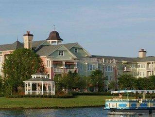 A stunning unit at Disney's Saratoga Springs resort