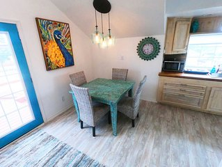 North Padre Island Private,Spacious, Second Floor Apartment. Private Entrance