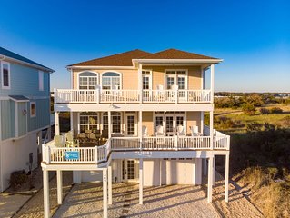 Unobstructed Ocean front Panaramic Views, Ocean View, Inlet view, ICW View