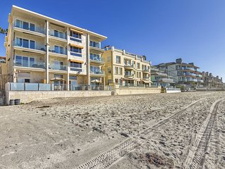Beach Bungalow directly on the Sand Ocean View1 Block Carlsbad Village