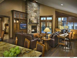 Northstar Lodge Ski-In/Ski-Out Holiday Vacation 2 Bedroom Villa