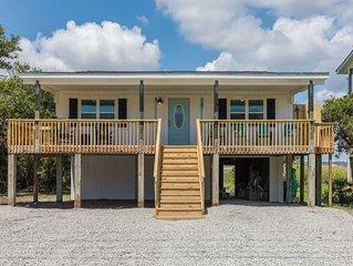Coastal Cottage, sound side w/water views