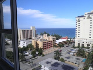 Gorgeous Highrise Condo One Block From Ft. Lauderdale Beach - 3 Month Minimum