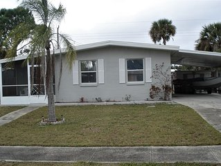 Great for a family 2 to 4 people 2 bedrooms 1 bath home in North Port.