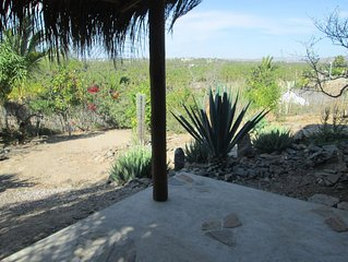 The Hideaway, casita with queen bed, full bath, kitchen, sitting area + terrace