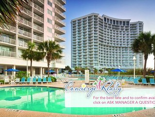 Gorgeous Oceanfront Resort. Two bedroom! Book now! Over 400 Reviews!