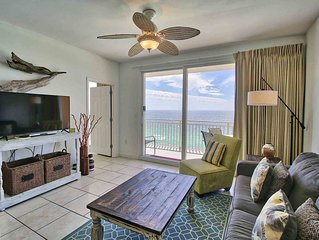 Perfect PCB Condo ~ Great Views of the Gulf of Mexico, Fitness, Lazy River, Kids