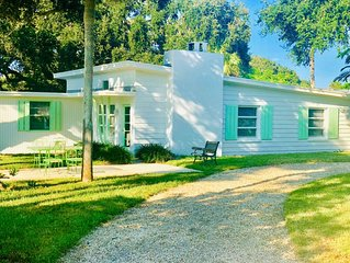 Mid-Century 2-bedroom, 1-bathroom island home just steps from the beach!