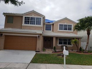 Entire 4/3 home with a pool! Montly rental.