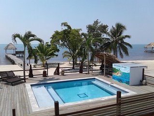 Two Bedroom Beachfront Home with Pool and Pier!
