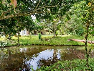 Ceiba Pond Home Rental - Wildlife Paradise