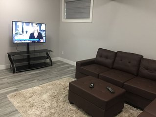 Beautifully Furnished 2 bedroom Basement Suite