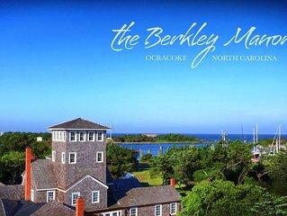 The Berkley Manor - Ocracoke's largest rental - An estate on Silver Lake