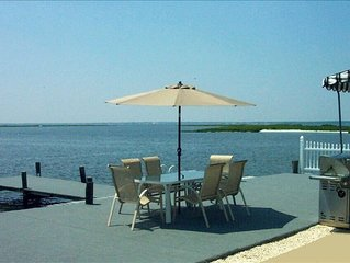 WATERFRONT!!! WATERFRONT!!! WATERFRONT!!! ~ On Barnegat Bay  ~ FREE  BOAT SLIP