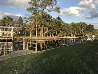 Waterfront Condo in Crystal River with your own boat dock