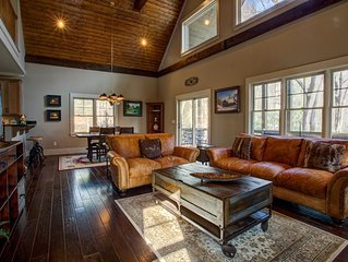 Bearwallow Cabin; located in exclusive Grand Highlands at top of Bearwallow Mt.